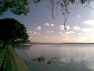 Tarde na Praia do Jacar�, onde ocorre o p�r-do-sol mais oriental do Brasil.
