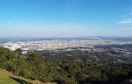 Pico do Urubu - Vista Panorâmica da Cidade