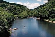 Pedalinhos para explorar o rio Santa Cruz