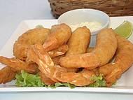 O melhor camarão do mundo (Barraca do Faria)
