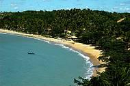 Praia é uma das mais bonitas do Sul da Bahia