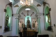 Interior da Capela de Santa Bárbara