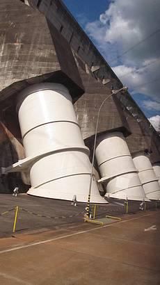 Lado de fora das Turbinas