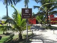 Entrada da praia