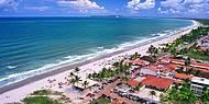 Vista aérea de uma praia maravilhosa