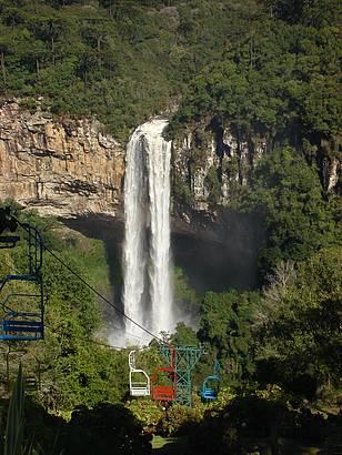 Cachoeira do Parque Caracol- Canela- RS