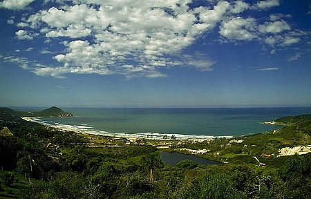 Trekking - Visual de 180º da Praia do Rosa