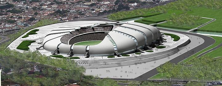 Estádio será usado também para shows e eventos