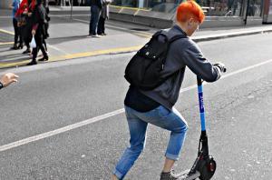 Patinete: nova mania chegou a São Paulo