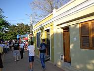 Construções históricas as margens do Piracicaba.