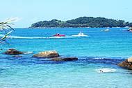 Tarde ensolarada na Praia do Ribeiro