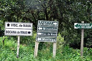 48 horas em Visconde de Mauá (RJ): Plaquinhas indicam os pedaços do paraíso -