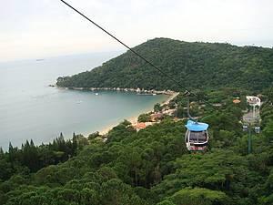 Teleférico e Mirantes do Parque Unipraias