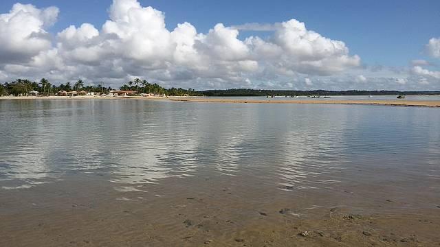 Piscinas Naturais Formadas na Maré Baixa em Coroa Vermelha... Paraíso!!
