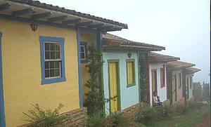 Casario colonial - Singelas construções fazem parte dos atrativos da cidadezinha