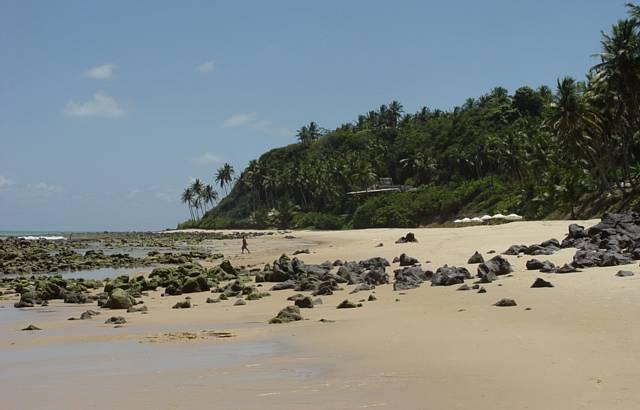 A praia....Linda demais!