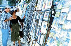 Domingo é dia de curtir a Feira de Ipanema
