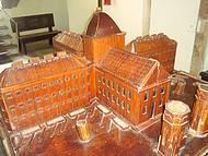 Maquete da Casa de Cultura (Antiga Prisão)