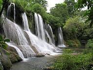 Cachoeira do Amor � uma das mais bonitas do complexo