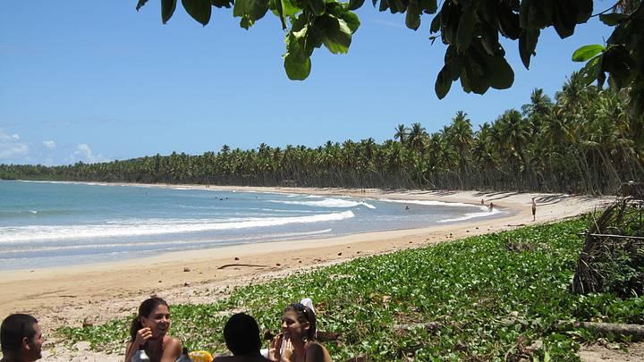 Lindo dia na Praia da Cueira
