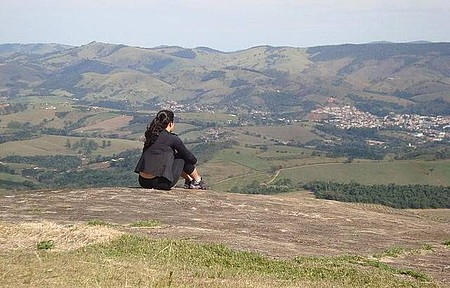 Pedra Bela Vista - Vista do topo!