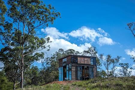 Jardim Uaná Etê - Construções se integram à naturzea