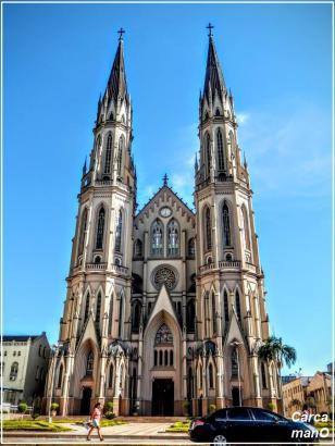Catedral São João Batista em Santa Cruz do Sul