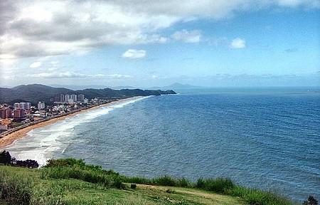 Praia Brava vista do Morro do Careca