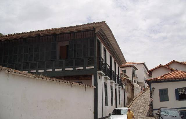 Fachada da Capela de Chica da Silva na Lateral de sua Casa