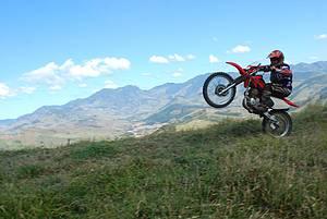 Mountain-bike e motocross