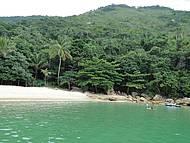 Passeio lancha na Praia dos Meros