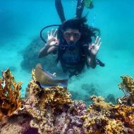 Mergulho de cilindro nas Piscinas naturais de Maragogi