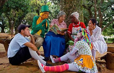 Sítio do Picapau Amarelo - Personagens encantam adultos e crianças