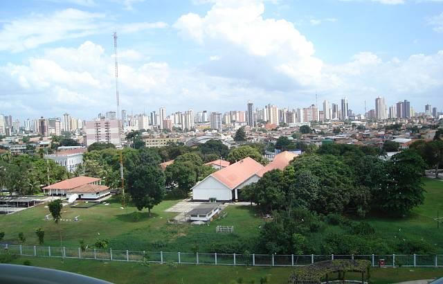Vista da cidade da torre