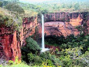 Explorar o Parque Nacional da Chapada dos Guimarães