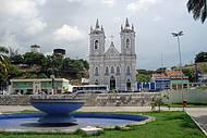 Vista da Igreja Bom Jesus dos Martírios