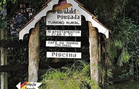 Pousada & Restaurante Grünwald - Pousada Grünwald - BR 101, próximo a Joinville SC