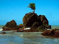Uma praia belíssima
