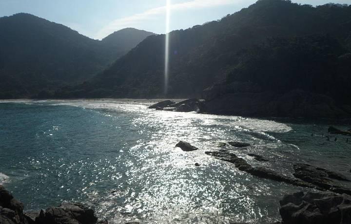 Pôr do Sol na Praia de Fora