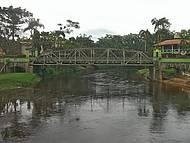 Ponte Velha vista da Praça Central