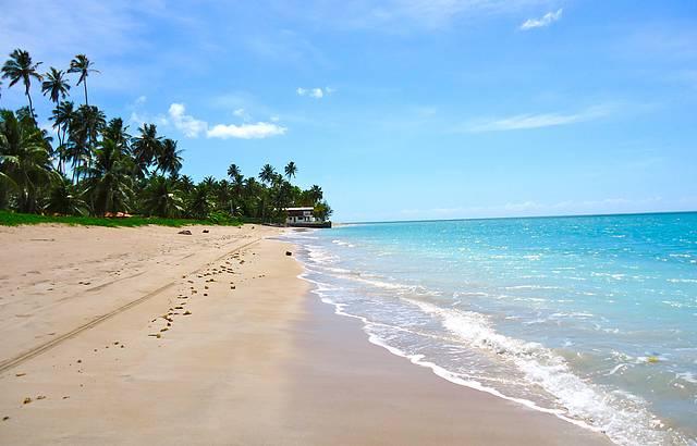 Calmas �guas da Praia de Barra Grande