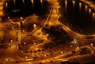 Lagos contornam boa parte do espa�o