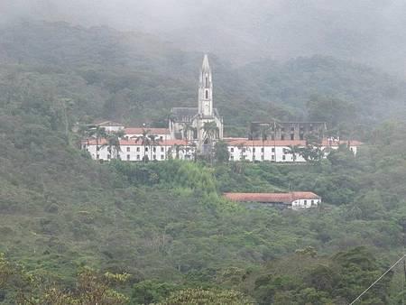 Santuário do Caraça - Consolidado como Santuário Religioso e Ecológico de Minas Gerais.