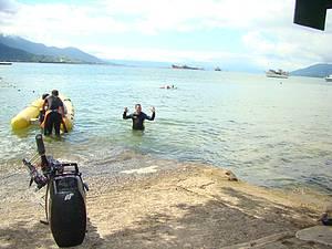 Mergulhar na Ilha das Cabras