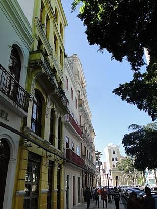 Uma bela rua do Centro Histórico do Recife
