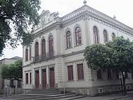 Vista parcial do Prédio da Prefeitura