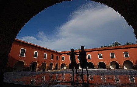 Antigo convento cede espaço para a cultura