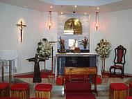 Capela na Base do Cristo Redentor
