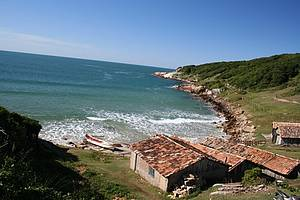Curtir a Praia do Rosa