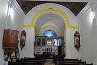 No altar encontra-se a 1ª foto do Stº Sudário,doado p/cidade de Turim (Itália)